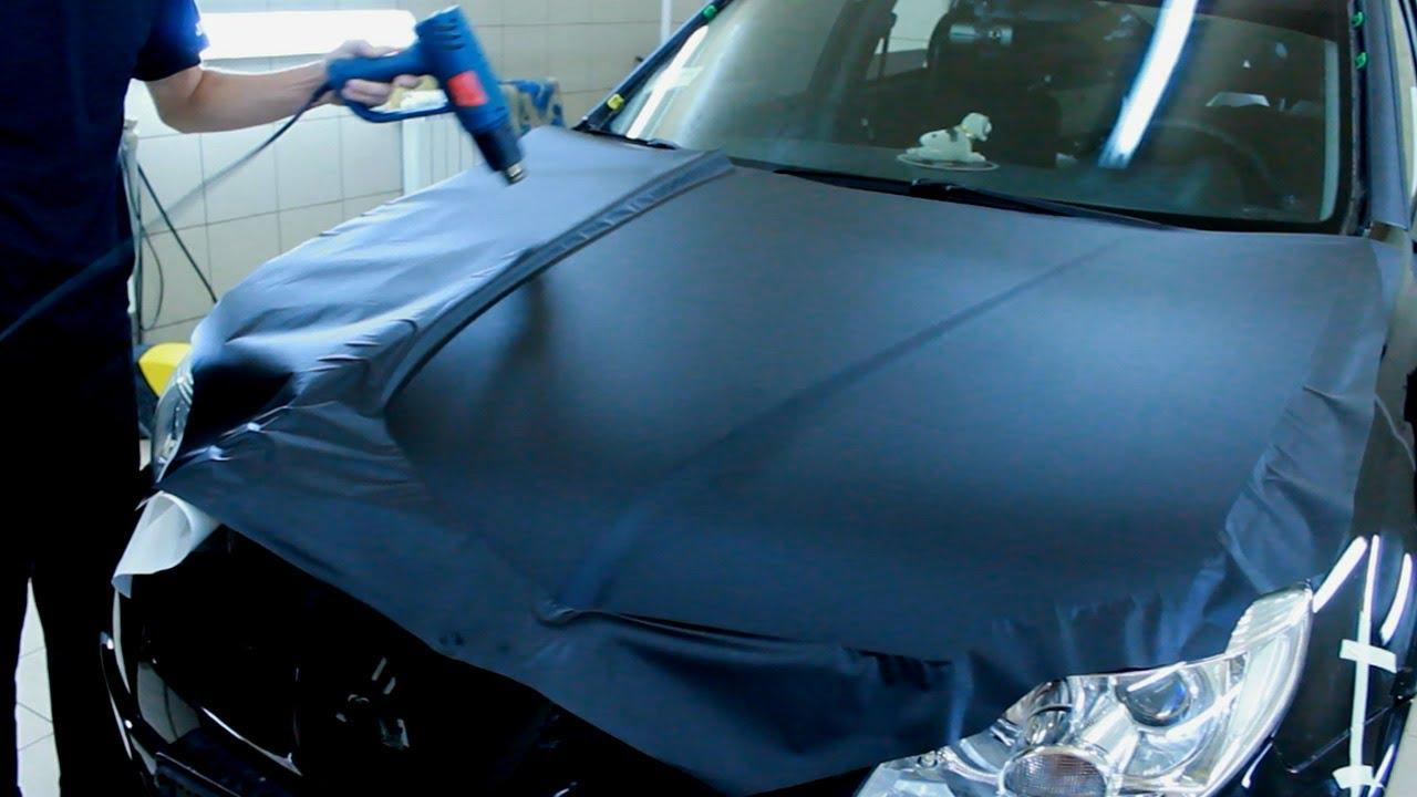 Как клеить тонировочную пленку на авто своими руками видео