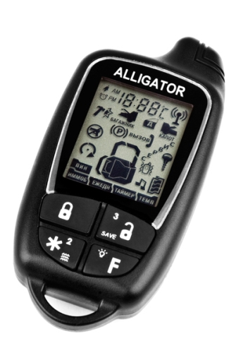 сигнализация аллигатор Td-320 инструкция - фото 6