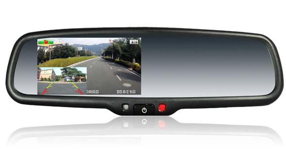 Зеркало с навигатором и видеорегистратором