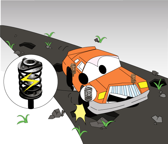 Автобаферы для Kia Sorento 2 2009-2012